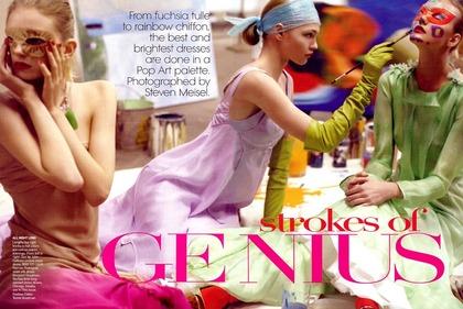 Strokes of Genius - Steven Meisel