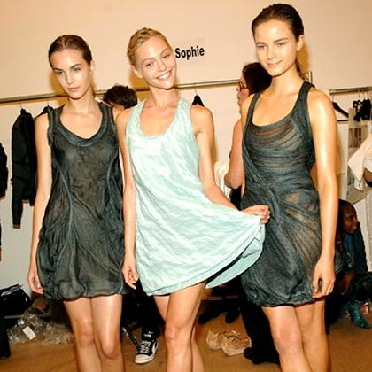 Calvin Klein S/S 2010 - backstage