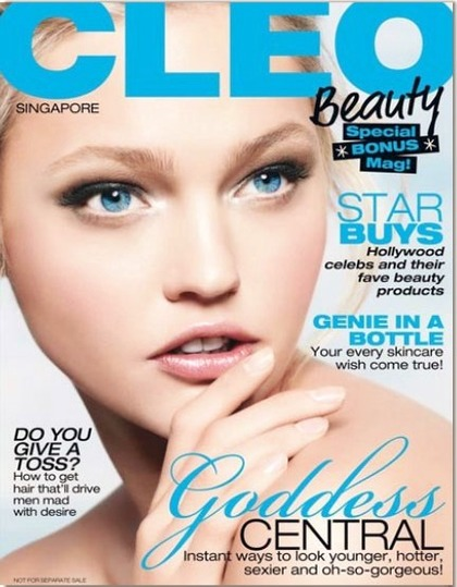 CLEO Singapore Beauty - 2009 issue