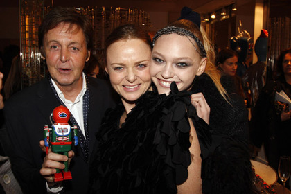 Stella McCartney Store Opening - Stella and Paul McCartney
