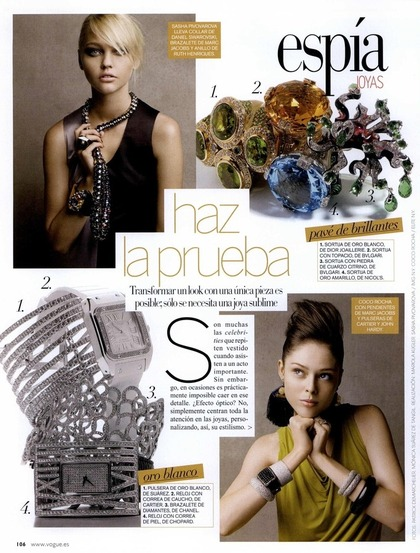 Espia Joyas - Vogue Espana April 2009