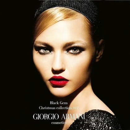 Black Gem Christmas collection - Giorgio Armani Cosmetics 2007