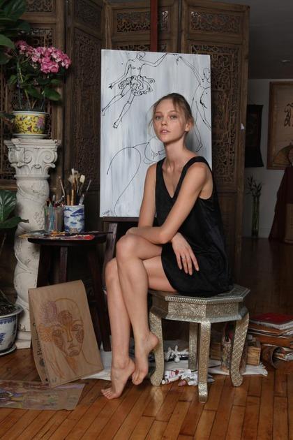 sasha pivovarova art - Dec 7, 2011
