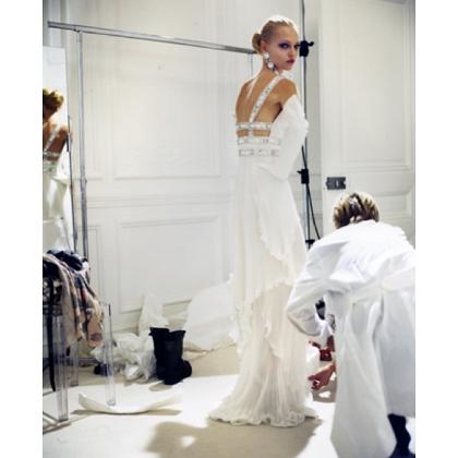 Valentino Haute Couture S/S 2008 - backstage