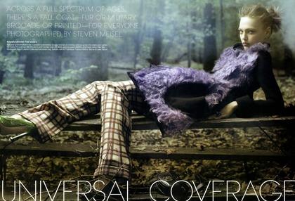 Universal Coverage - Steven Meisel