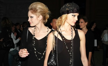 Chanel Haute Couture F/W 2009 - backstage / street