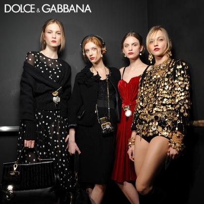 Dolce & Gabbana F/W 2010 - backstage / street