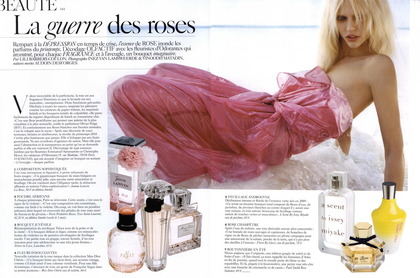 La Guerre des Roses - Vogue Paris beauty April 2010