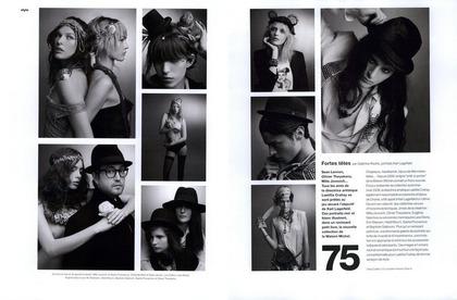Fortes têtes - Karl Lagerfeld