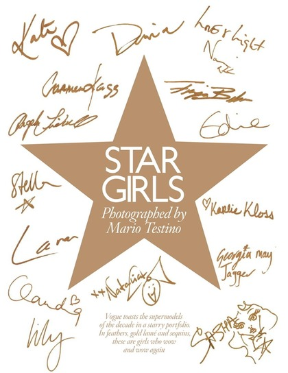 STAR GIRLS - Mario Testino