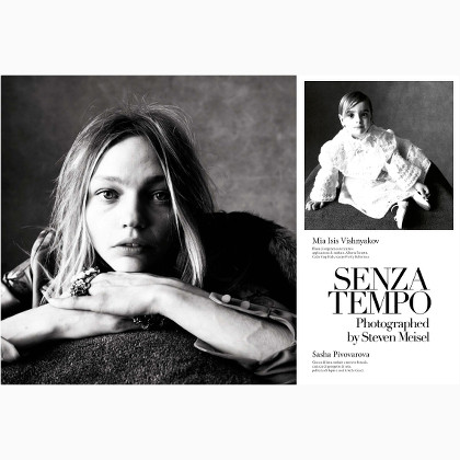 【latest news】 Senza Tempo - Steven Meisel