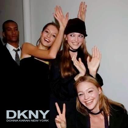 DKNY F/W 2006 - backstage