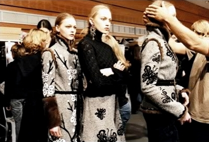 Andrew G.N F/W 2005 - backstage