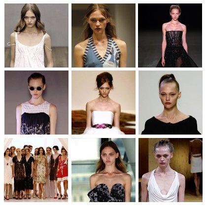 Show List - London Fashion Week S/S 2006