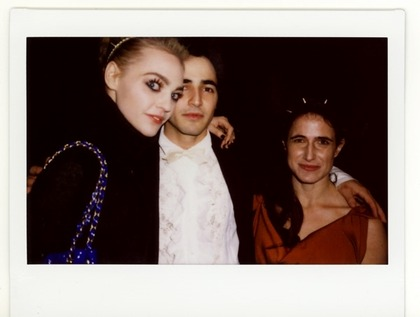 Zac Posen F/W 2009 - backstage / polaroid