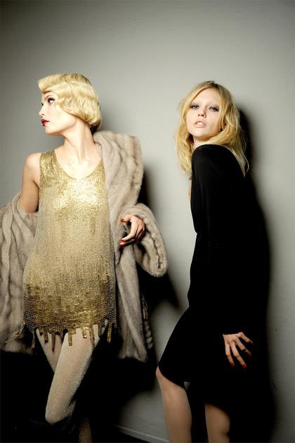 Jean Paul Gaultier F/W Haute Couture 2009 - backstage / street