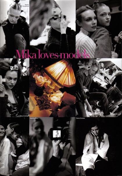 Mika Loves Models - Mika Ninagawa