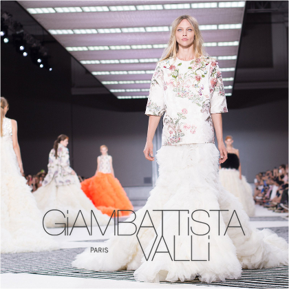 【latest news】 Giambattista Valli - Haute Couture F/W 2015
