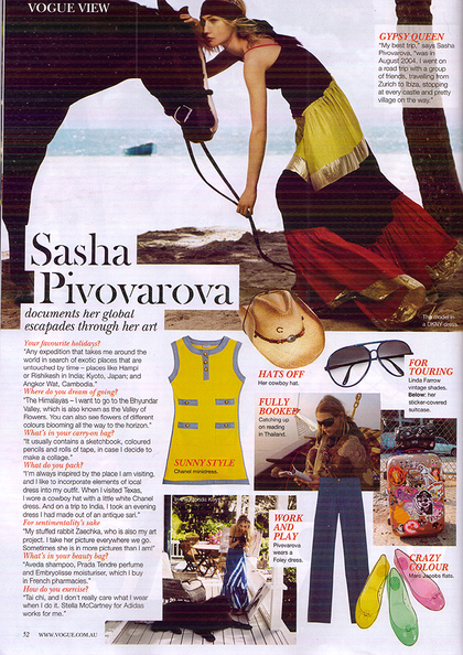 VOGUE View - Vogue Australia October 2007