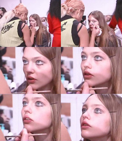 Chanel F/W 2005 - backstage