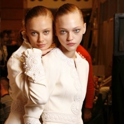 Andrew GN S/S 2006 - backstage