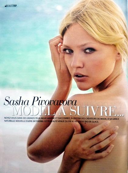 Sasha Pivovarova MODEL À SUTVRE...