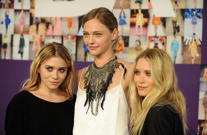 with Olsen Twins - CFDA Fashion Awards 2010