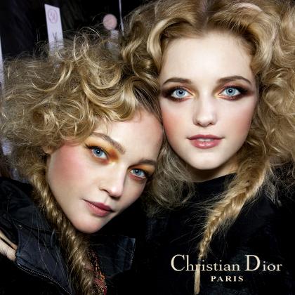 Christian Dior F/W 2010 - backstage / street