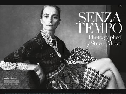 Vogue Italia Senza Tempo Steven Meisel July 2015 001