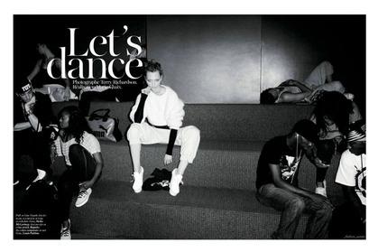 Let's Dance - Terry Richardson