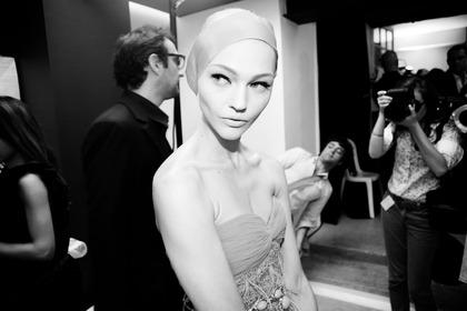 Giambattista Valli F/W Haute Couture 2011 - backstage