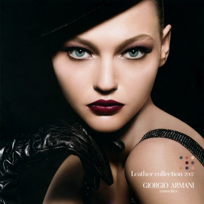 Leather collection - Giorgio Armani Cosmetics 2007