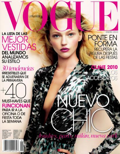 Vogue Latin America - January 2010 issue