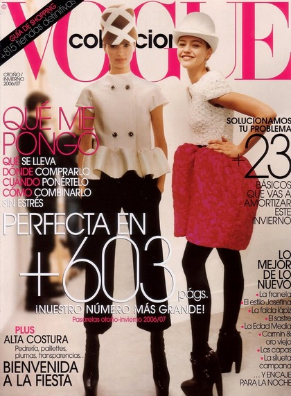 Vogue collections Espana - FW 2006/2007 issue