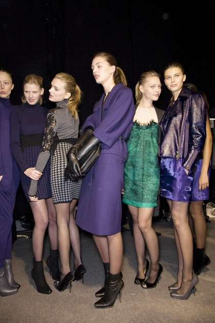 Stella McCartney F/W 2009 - backstage