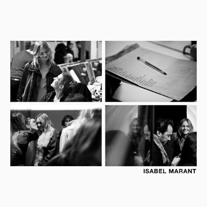 Isabel Marant F/W 2011 - backstage / street