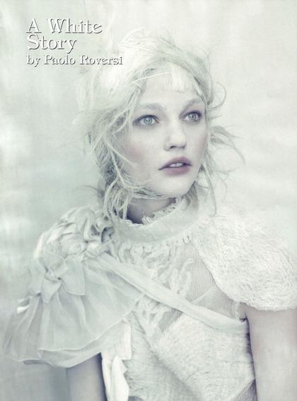 A White Story - Paolo Roversi