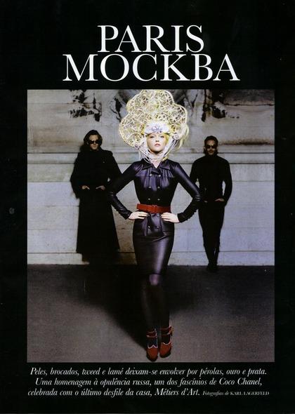 PARIS MOCKBA - Karl Lagerfeld