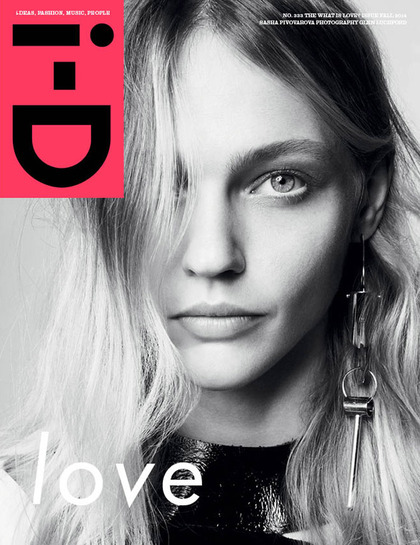 "i-D - ""The What is Love?"" Fall 2014 issue"