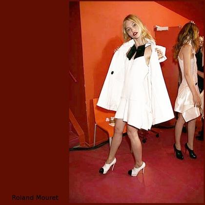 Roland Mouret F/W Haute Couture 2007 - backstage
