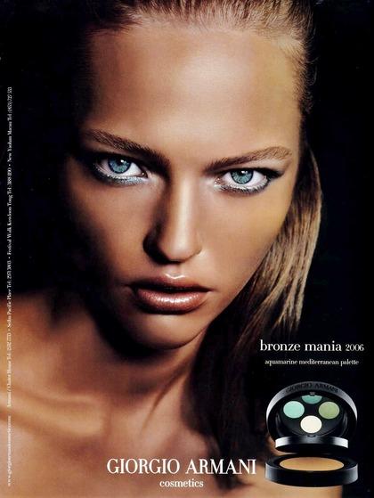 bronze mania - Giorgio Armani cosmetics 2006