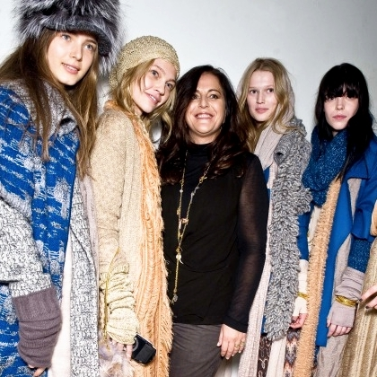 Missoni F/W 2009 - backstage