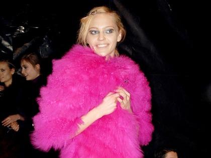 Sonia Rykiel F/W 2007 - backstage