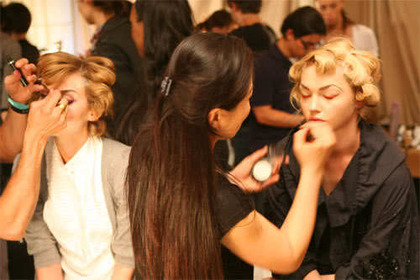 Christian Dior Cruise 2009 - backstage