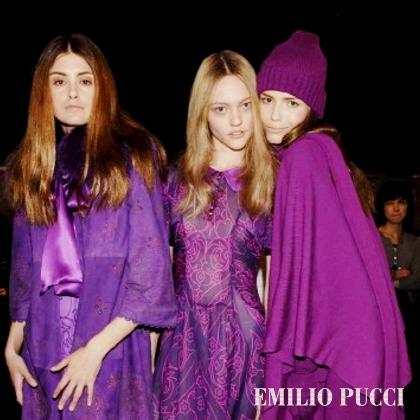 Emilio Pucci F/W 2006 - backstage