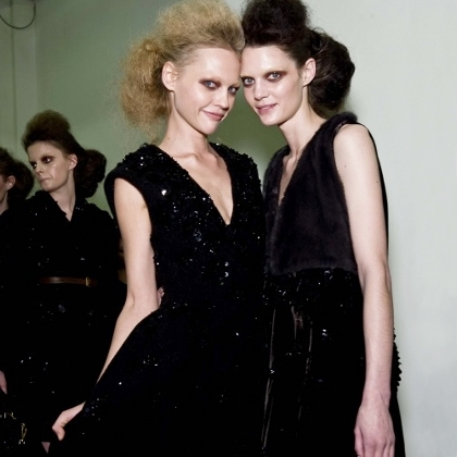 Prada F/W 2009 - backstage