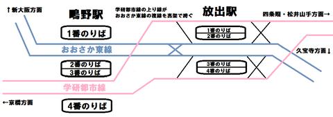 おおさか東線 鴫野~放出 延伸開業後