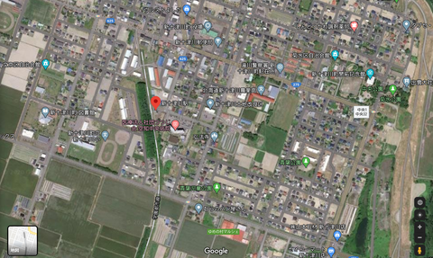 新十津川駅 グーグルマップ1