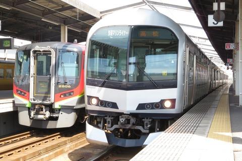 児島駅で快速 マリンライナー&特急しおかぜを撮る (2021年3月)
