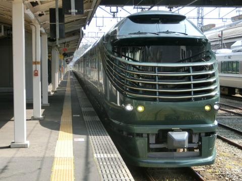 豊岡駅で 豪華寝台列車 「瑞風」 & 臨時快速 「山陰海岸ジオライナー」 を撮る (2019年4月)